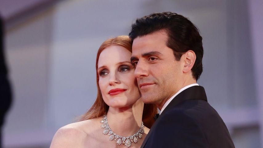 Jessica Chastain und Oscar Isaac bei den Filmfestspielen in Venedig, 2021