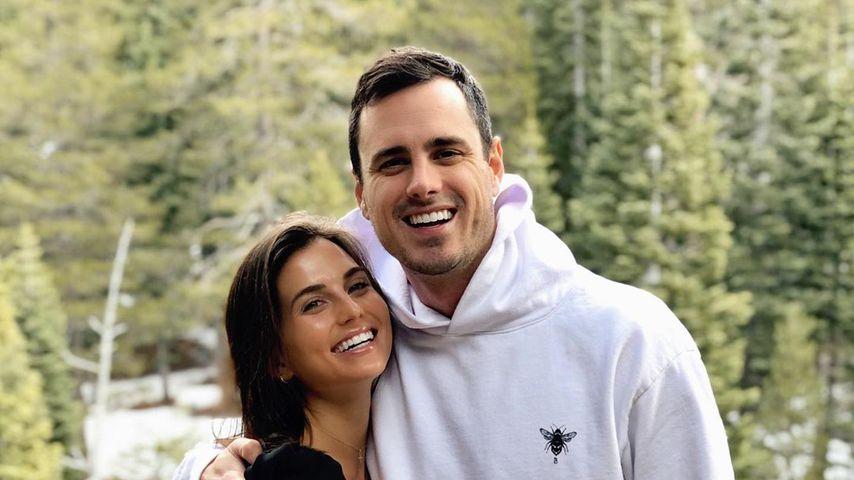 Jessica Clarke und Ben Higgins