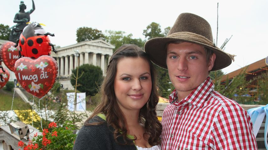 Jessica Farber Und Toni Kroos auf der Wiesn 2013