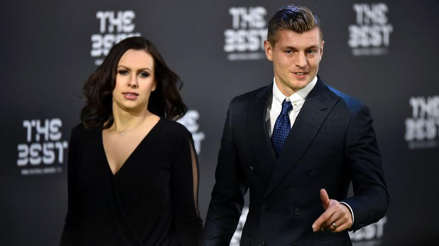 Jessica und Toni Kroos bei den FBL Fifa Awards in Zürich