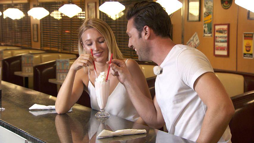 Jessica Neufeld und Daniel Völz beim Bachelor-Einzeldate