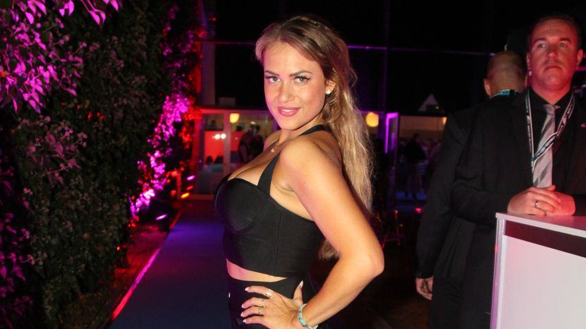 "Jessica Paszka bei der ""Promi Big Brother""-After-Show-Party 2016"