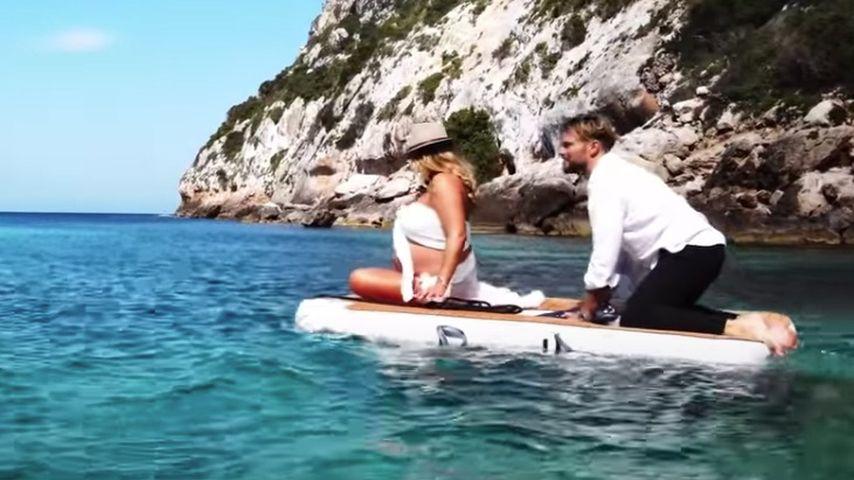 Jessica Paszka und Johannes Haller auf Ibiza