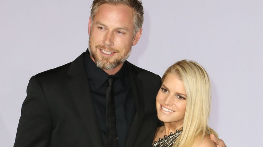 Jessica Simpson und Eric Johnson