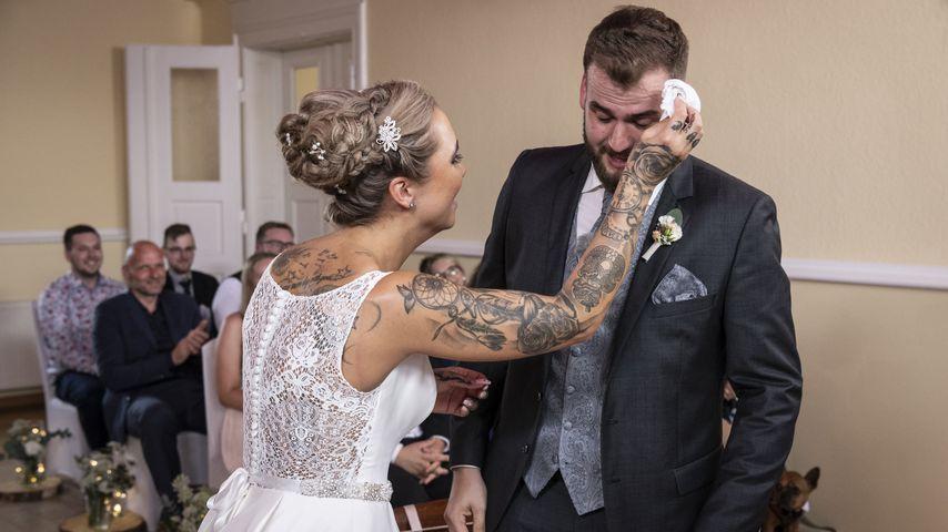 """Jessica und Marc bei """"Hochzeit auf den ersten Blick"""""""