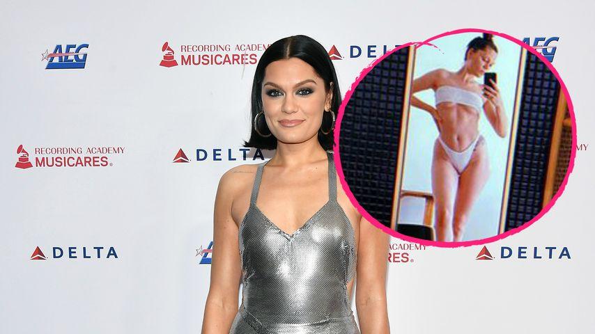 Im weißen Zweiteiler: Jessie J schießt heißes Underboob-Pic!