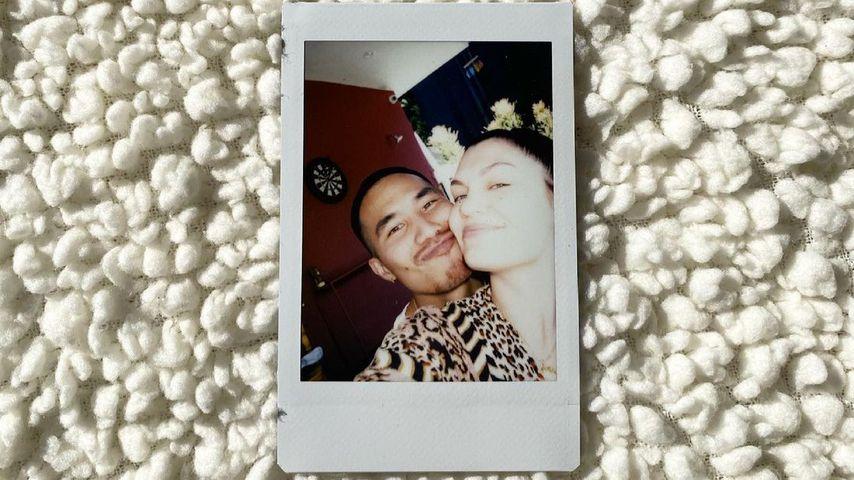 Jessie J und ihr Freund Max Pham Nguyen im März 2020