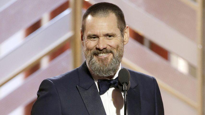 Jim Carrey bei der Verleihung der Golden Globes in Los Angeles