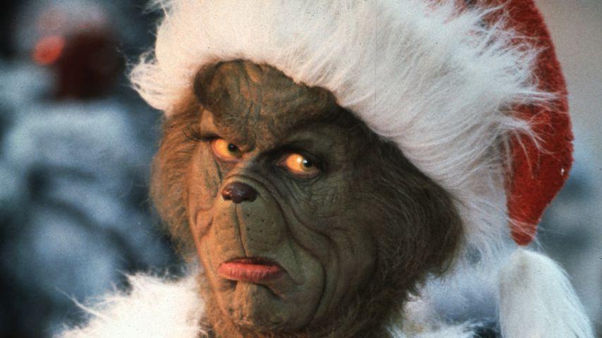 """Jim Carrey im Weihnachtsfilm """"Der Grinch"""""""