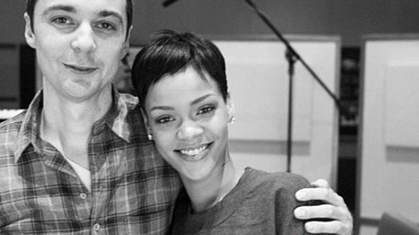 """Ein niedliches """"Paar"""": Jim Parsons & Rihanna"""