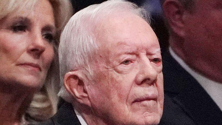 Nach Sturz: Ex-US-Präsident Jimmy Carter hat Hüfte gebrochen