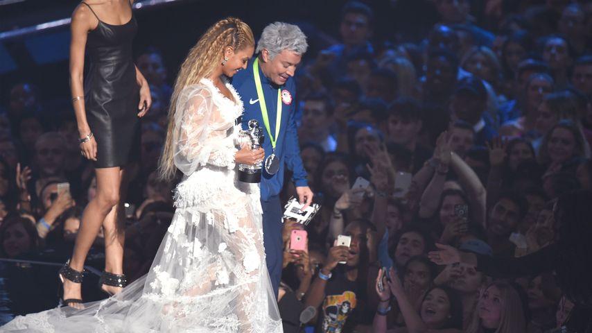 Jimmy Fallon und Beyoncé bei den MTV VMAs 2016