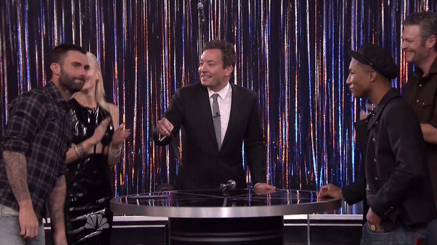Oje! Adam Levine sang Britney-Spears-Hit bei Jimmy Fallon
