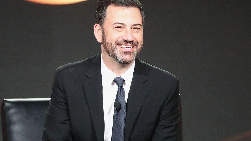 Jimmy Kimmel auf einer Pressekonferenz in Pasadena im Januar 2018