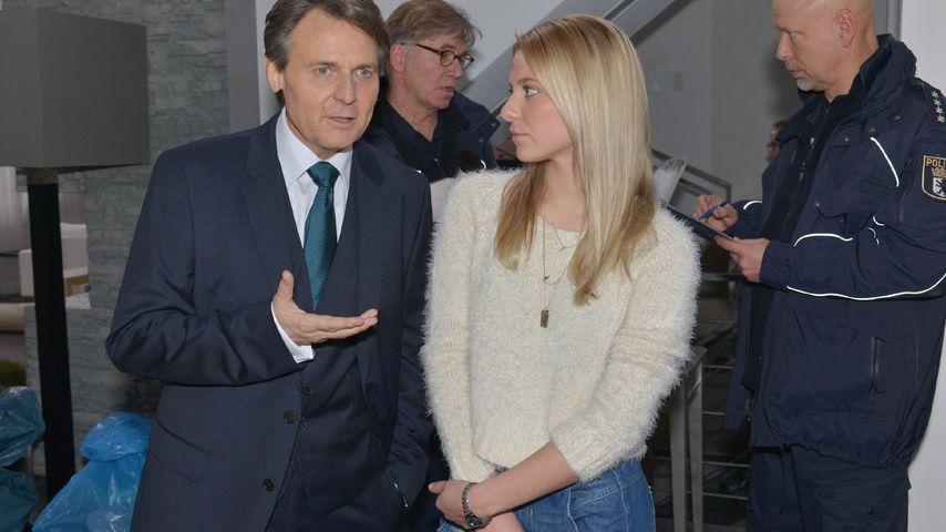 Wolfgang Bahro und Valentina Pahde bei GZSZ