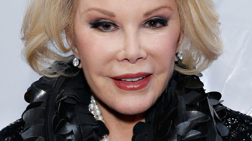 Joan Rivers im Februar 2014