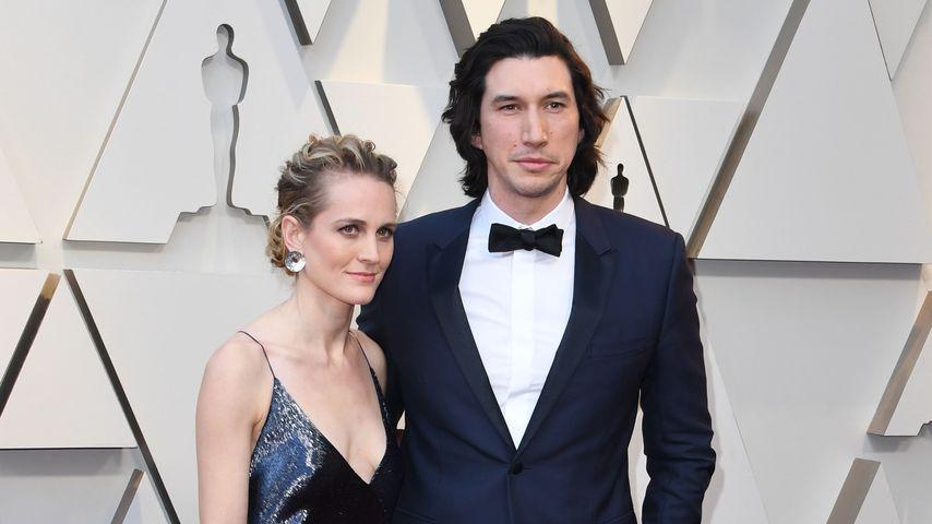 Joanne Tucker und Adam Driver bei den Oscars 2019