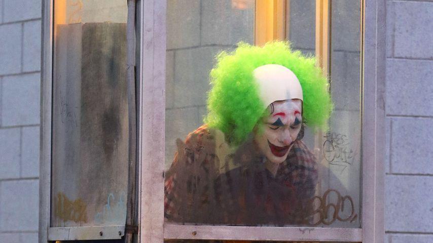 """Joaquin Phoenix am Set des neuen """"Joker""""-Films, September 2018"""