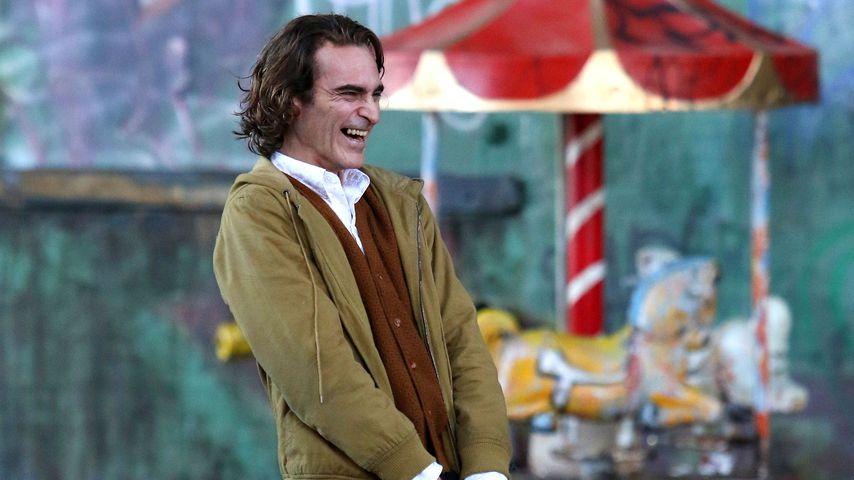 Erste Bilder: So macht sich Joaquin Phoenix als neuer Joker!