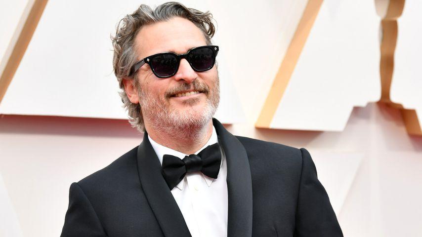 Joaquin Phoenix bei den Oscars in Hollywood im Februar 2020