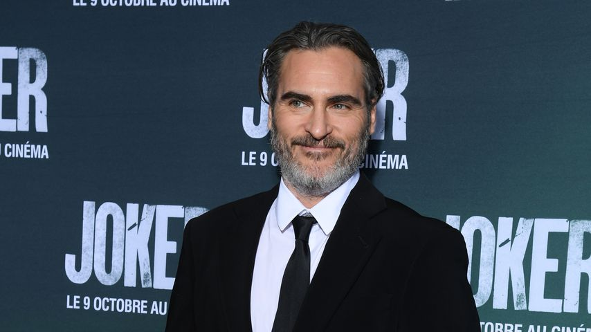 "Joaquin Phoenix bei der ""Joker""-Premiere in Paris, September 2019"