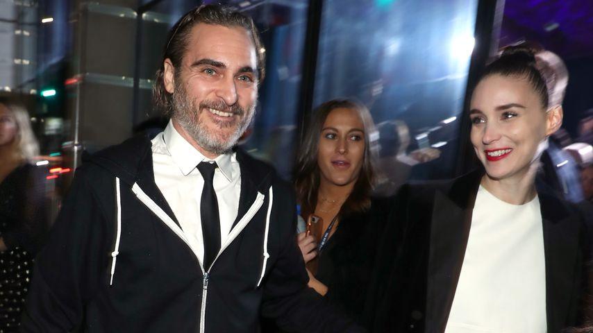 Joaquin Phoenix und Rooney Mara auf einem Event in L.A. im Januar 2019