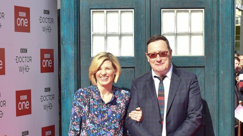 Jodie Whitaker und Chris Chibnall im September 2018 in Sheffield