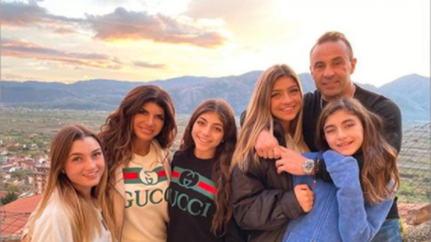 Joe Giudice mit seiner Familie