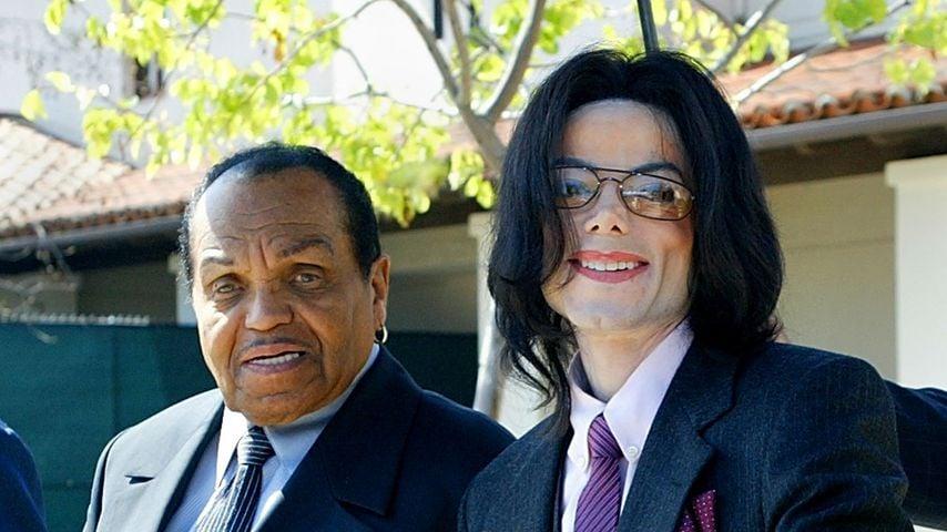 Joe Jackson und Sohn Michael Jackson