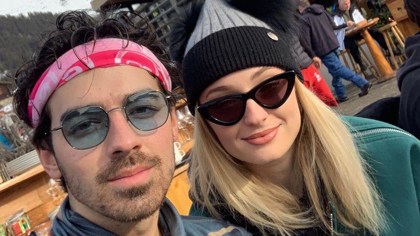 Joe Jonas und Sophie Turner im Schweiz-Urlaub im Dezember 2018