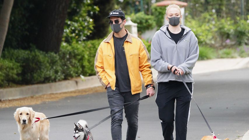 Joe Jonas und Sophie Turner in Kalifornien