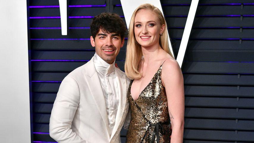 Joe Jonas und Sophie Turner bei der Vanity Fair Oscar-Party 2019