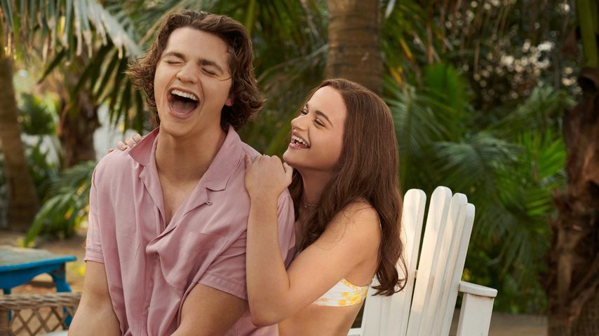 """Joel Courtney und Joey King in """"The Kissing Booth 3"""""""