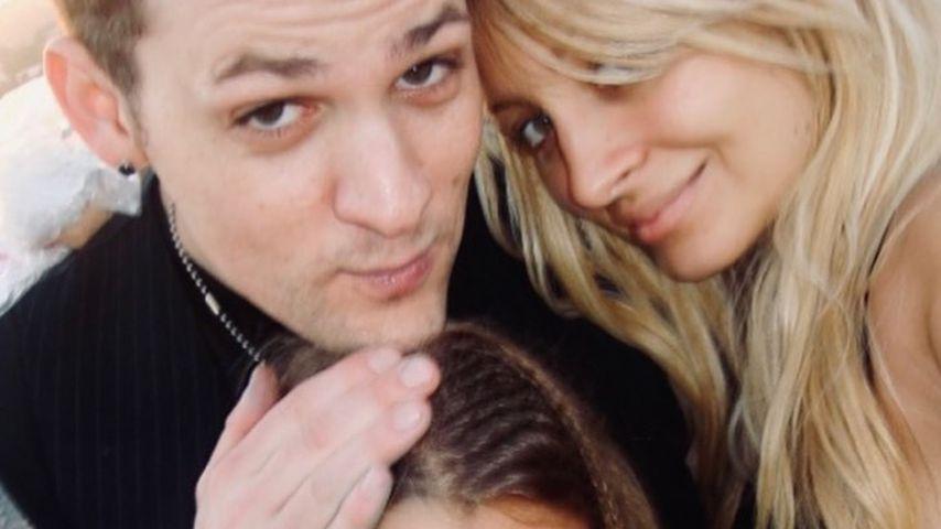 Joel Madden und Nicole Richie mit Sofia Richie