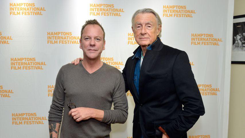 Kiefer Sutherland und Joel Schumacher, 2014
