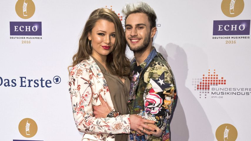 "Joelina Drews und Marc Aurel Zeeb beim ""Echo Award"" in Berlin"