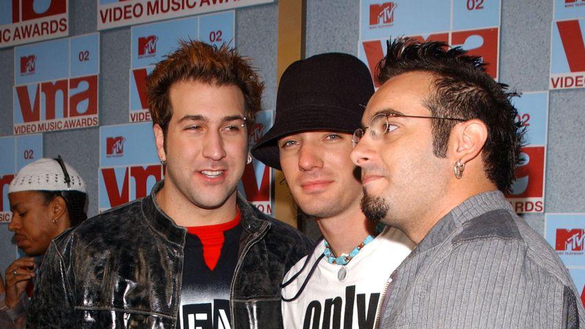 Joey Fatone, JC Chasez und Chris Kirkpatrick, 2002