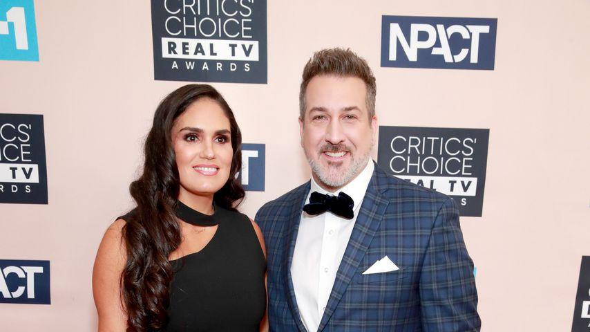 "Joey Fatone und Izabel Araujo bei den ""Critics' Choice Real TV Awards"", 2019"