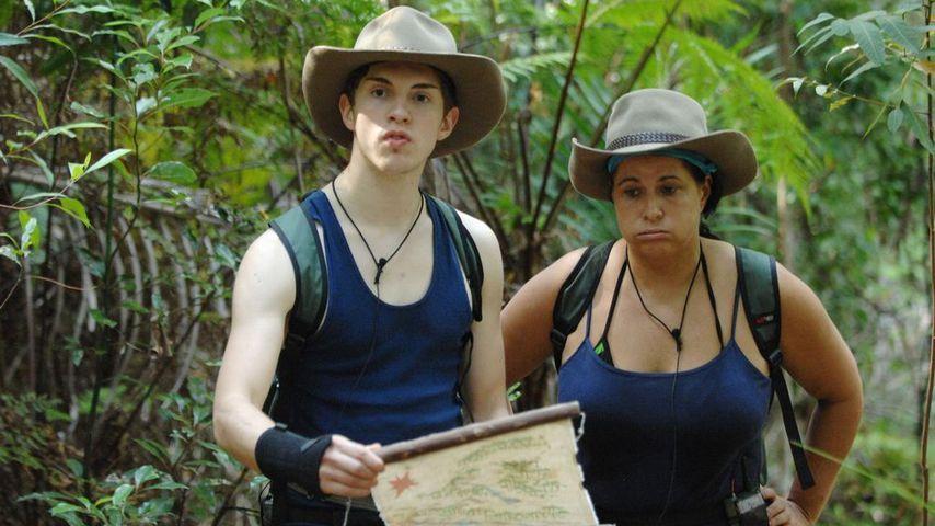 Joey Heindle und Iris Klein im Dschungelcamp 2013