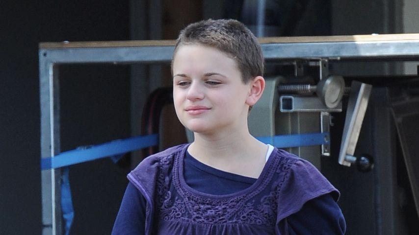 """Joey King am Film-Set von """"Wish I Was Here"""", August 2013"""