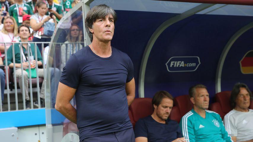 Bundestrainer Joachim Löw beim WM-Spiel gegen Mexiko