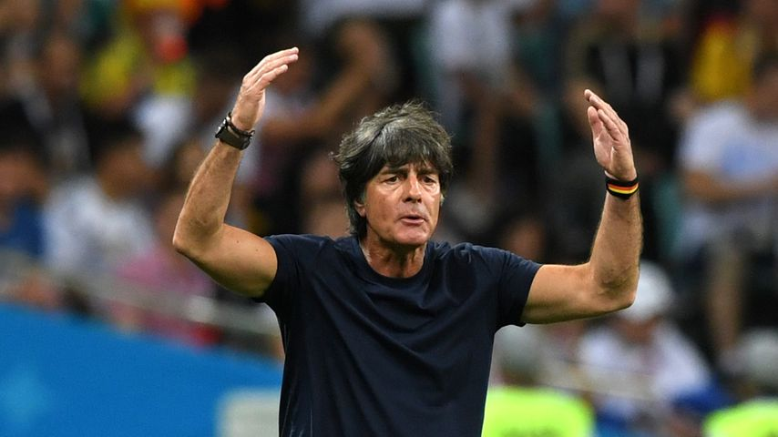 Joachim Löw beim WM-Spiel gegen Schweden