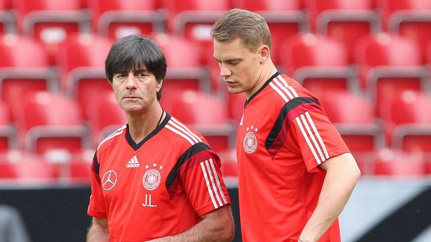 """Verdammt traurig"": Manuel Neuer bedrückt über Jogi Löws Aus"