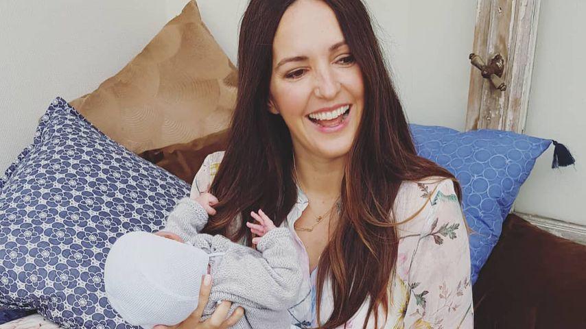 Gestresst und happy: Johanna Klums erster B-Day mit Baby