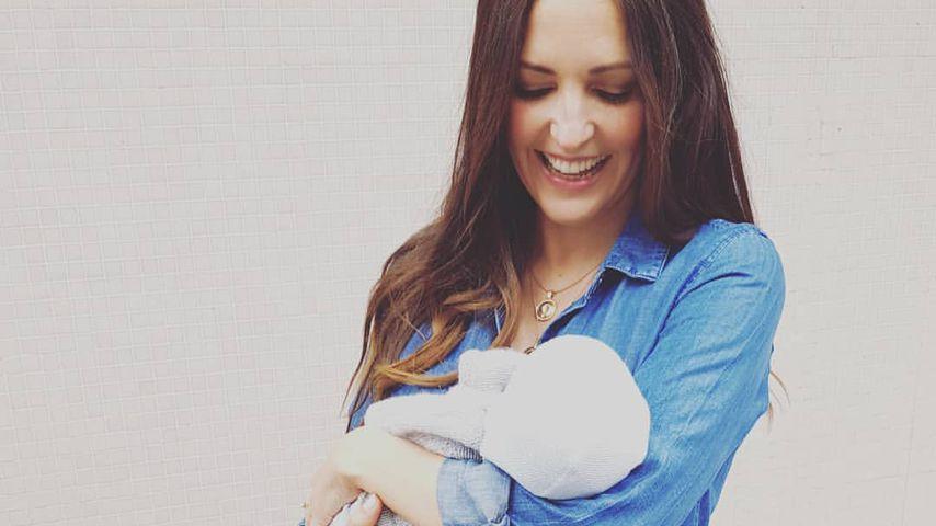 Neu-Mama Johanna Klum: Zum ersten Mal mit Baby-Boy unterwegs