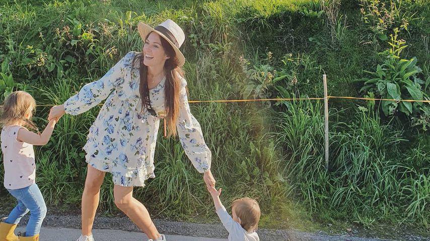 """Kids in Kita: Für Johanna Klum sind die Momente """"wie Urlaub"""""""
