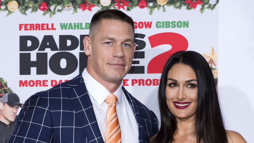 """John Cena und Nikki Bella bei der """"Daddy's Home 2"""" Premiere"""