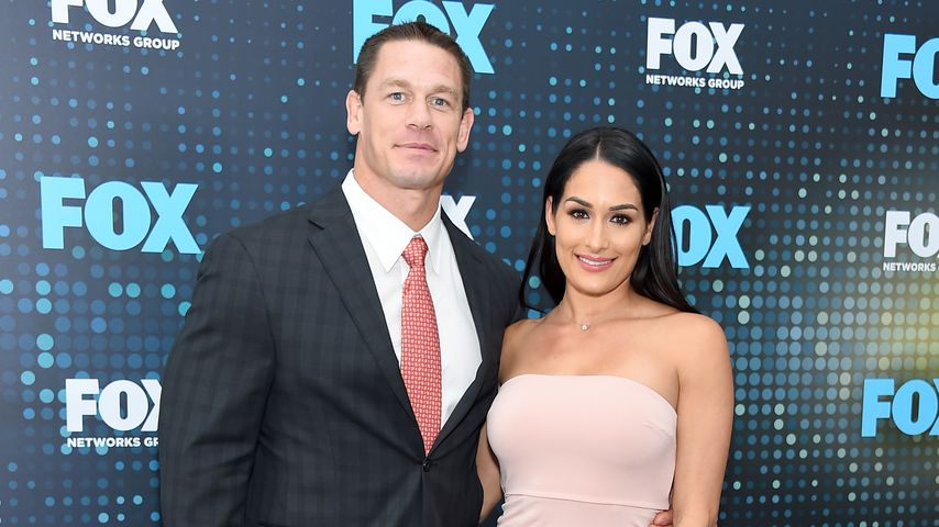 John Cena und Nikki Bella in New York City