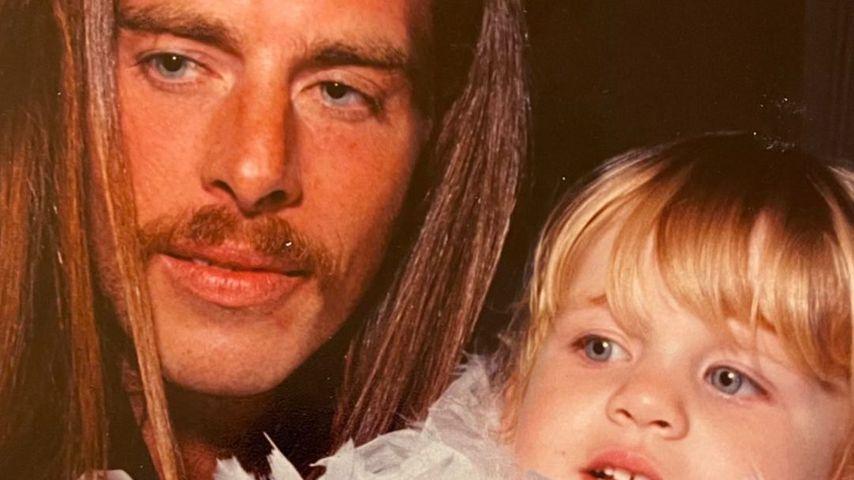 John Gilbert Getty mit seiner Tochter Ivy