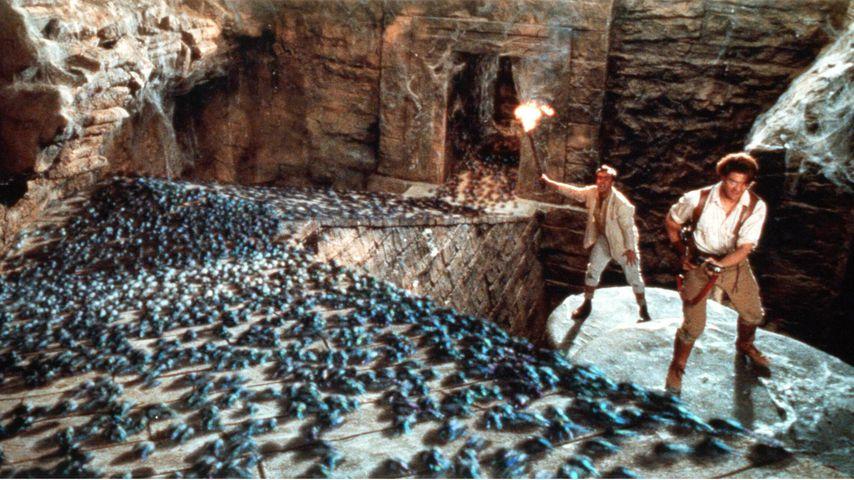 """John Hannah und Brendan Fraser in """"Die Mumie"""", 1999"""